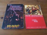 Marvel comics and role playing game book
