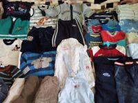 Boys clothes in bundle 3-6 months