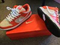 "Nike SB Dunk Low ""Orange Box"" - UK Size 8"