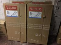 White uPVC Velux Windows with Flashing Kits