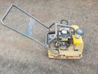 WACKER NEUSON WP2050 PLATE COMPACTOR (spares or repair)