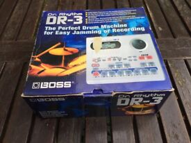 Boss DR3 Drum Machine