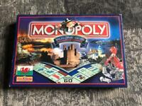 Monopoly board game Wales Cymru edition