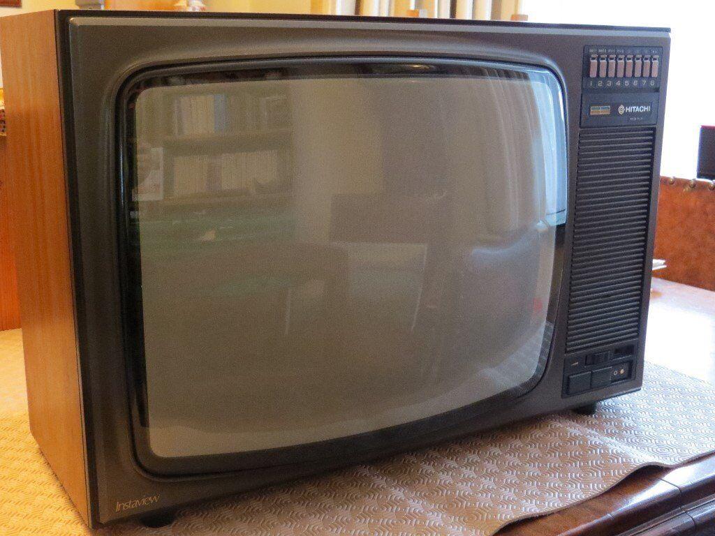 Hitachi 20 Vintage TV