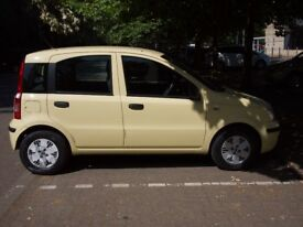 FIAT Panda 1.3 Multijet Dynamic 2008 yellow 5 door diesel hatchback
