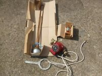 Assortment of heating/hot water tank spare parts