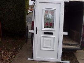 upvc door minter nearly new