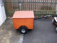 MOBILITY SCOOTER TRAILER