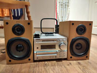 SONY DHC-MD373 Micro Hi-Fi system with speakers
