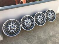 "Genuine BMW MV1 18"" Alloys"