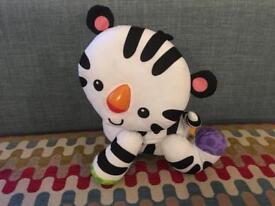FISHER PRICE TOUCH AND CRAWL TIGER