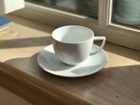 M & S Maxim tea cups and saucers set of 10 but can sell separately
