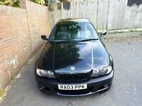 m sport bmw e46 318ci coupe in black 2.0 petrol. Not 330ci,320ci,325ci,vw,tt,a4