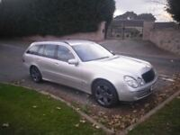 Mercedes w211 320 cdi new mot