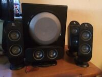 Logitech 5.1 surround sound speakers good condition