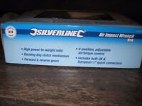 Silverline Air Ratchet Wrench