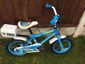 Boys Police Patrol Bike