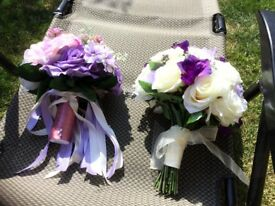 Bridal bouquets silk