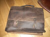Gorgeous Leather Satchel with shoulder strap (pbms)