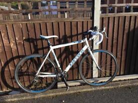 Gents Carrera Virtuoso Bike in Blue and White
