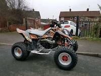 Polaris outlaw 500 road legal quad
