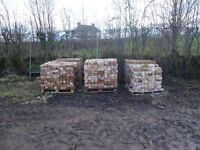 2 Pallets reclaimed Red Bricks. £200 per pallet.