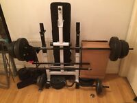 Gym equipment. 100+KG of weight!