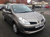 2009 Renault Clio 1.2 estate low mileage