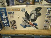 Scheppach 240v sliding mitre saw (245mm/ 10 i