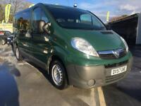 2007 VAUXHALL VIVARO 2.0 DIESEL MANUAL, 6 SEATERS.F/S/H.