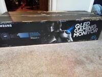 NEW Samsung 49 inch qled 144hz gaming monitor