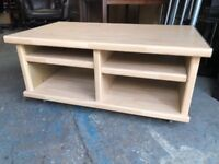 Nice Solid Coffee table with plenty of storage solid strong deliver