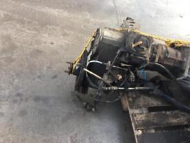Land Rover td5 complete engine and box