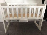John Lewis Drop Side Baby Crib
