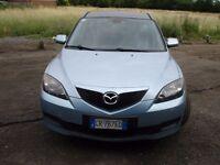 LEFT HAND DRIVE MAZDA 3 1600 DIESEL 2005 ITALIAN PLATE