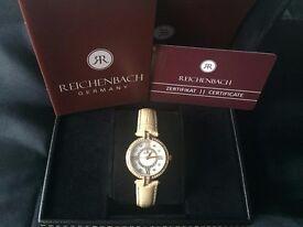 Reichenbach Ladies quarz watch RB114-280. Excellent condition, worn once.