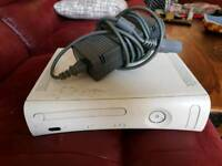 Xbox 360 Console and Power Lead. CD Tray Sticks a Bit, Everything Else Works 100%!