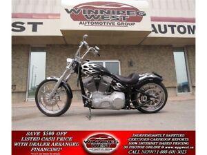 2005 Harley-Davidson FXST Softail FULL CUSTOM, 240 REAR TIRE, OV
