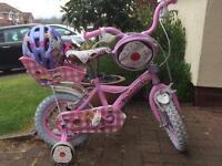 Child's apollo cupcake bike