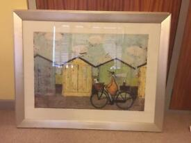 Large Sam Toft prints with frames