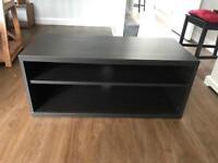 Ikea TV Table black brown 90x40x38