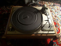 Dual CS505 turntable / record player with custom wooden chassis