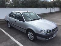 2001 TOYOTA COROLLA 1.4 WITH NEW MOT SEPTEMBER 2019, READY TO GO