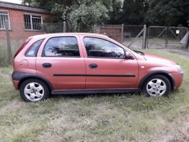 Vauxhall corsa automatic genuine 53000 miles 2 family owners from new