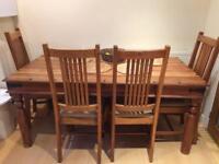 John Lewis Maharani Table & Chairs