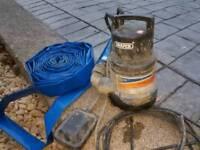draper water pump and hose