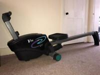 Vfit rowing machine with display and adjustable tension Sturdy Can deliver