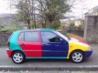 Volkswagen Polo Harlequin 1.4 1996**Very Rare Car**Long MOT**ONLY £2595**