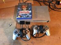Playstation 2 limited edition silver