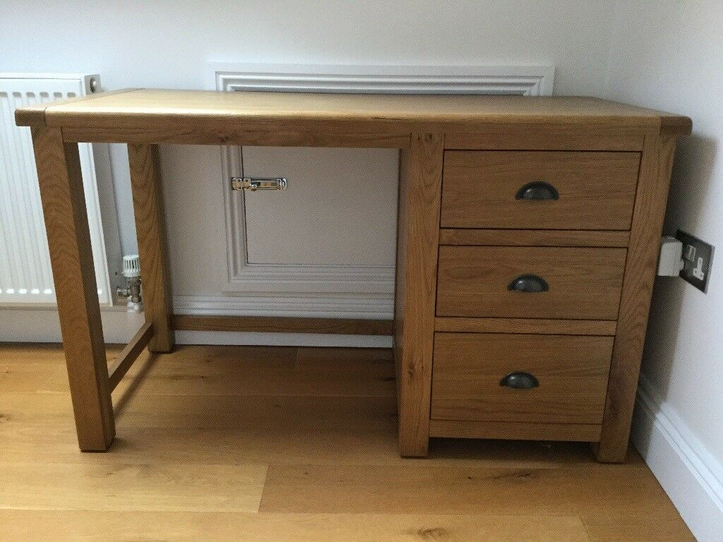brand new oak desk in lymington hampshire gumtree
